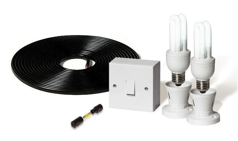 Kit d'éclairage 12v à économie d'énergie