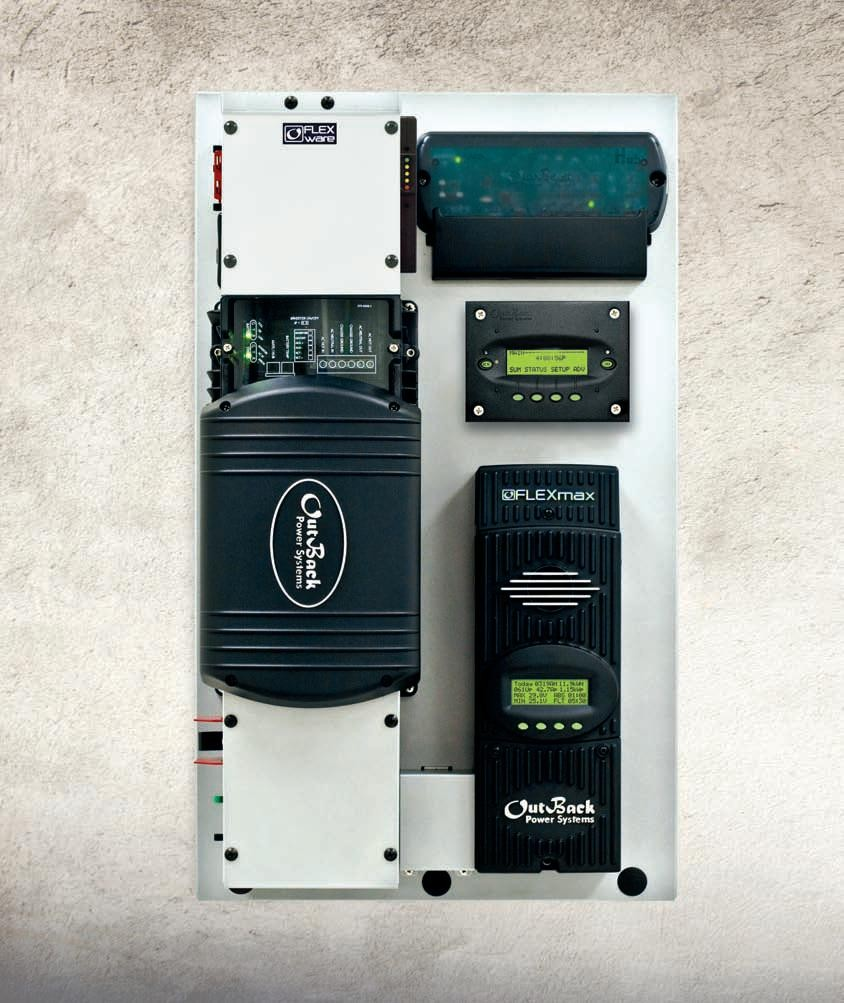 Système site isolé Outback Flexpower One 3 kVA 24 V
