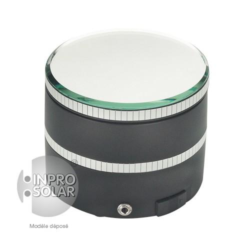 Présentoir rotatif solaire 1Kg - Rond