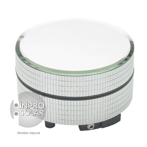 Présentoir rotatif solaire 1Kg - Blanc