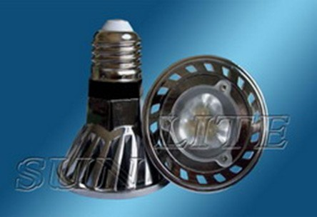 Spot LED dimmable E26 5W 220V 300LM blanc