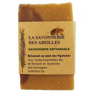 Savon Relaxant au Miel des Pyrénées