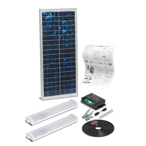 Solar Mate 3 - Kit d'éclairage solaire 18w (néon)