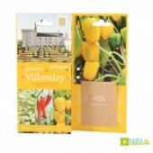 Carte 3 volets Villandry Basilic-Piment-Poivron jaune