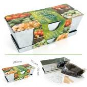 Jardinière zinc petits légumes