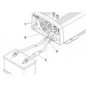 Câble de raccordement DC 35 mm², 1,5 m