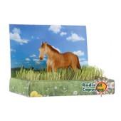 Jardin puzzle 3D cheval