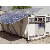 Conteneur solaire de stockage de lait