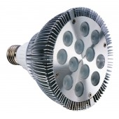 Spot LED dimmable E27 12W 220V blanc chaud