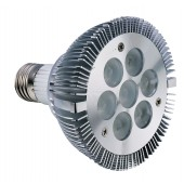 Spot LED dimmable E27 7W 220V blanc chaud