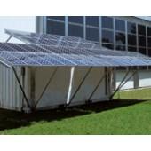 Conteneur solaire de production et stockage de glaçons