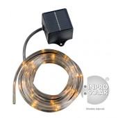 Guirlande solaire LED - Jaune