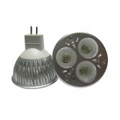 Spot LED MR16 3W 12V blanc chaud