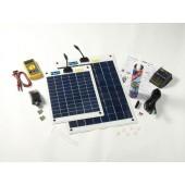 Kit solaire flexible complet 30w
