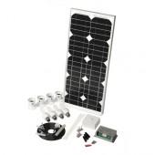 Solar Mate 3 - Kit d'éclairage solaire 18w (ampoules)