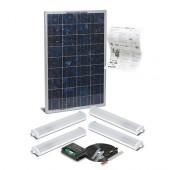 Solar Mate 4 - Kit d'éclairage solaire 28w (néons)