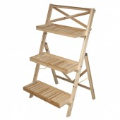 Petit podium bois 3 niveaux