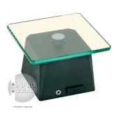 Présentoir rotatif solaire 1Kg - Socle carré