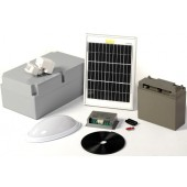 Solar bulkhead pir light - kit