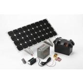 Station photovoltaïque 80w
