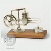 Micro-moteur Stirling - Aluminium