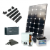 Kit solaire 200 W 12 V Premium avec batterie