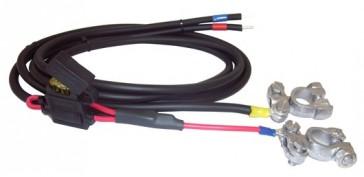 Câble de batterie avec fusible 15A 1,5 m