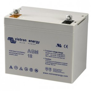 Batterie AGM Deep Cycle - 12V 66Ah Victron Energy - BAT412600080