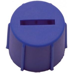Bouchon bleu pour terminal (DIN Batteries de démarrage)