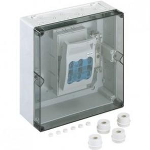 Boîtier pour interrupteur-sectionneur à fusible NH Aki-T 201