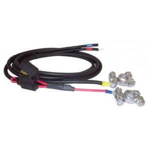 Câble de batterie avec fusible 30A 1,5 m