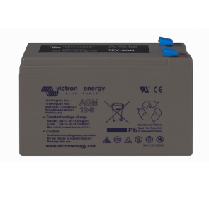 Batterie AGM Deep Cycle - 12V 8Ah Victron Energy - BAT212070080