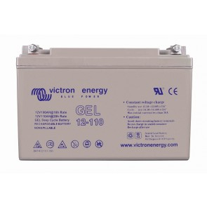Batterie GEL Deep Cycle - 12V 110Ah Victron Energy - BAT412101100