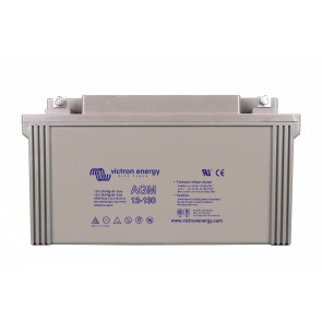 Batterie AGM Deep Cycle - 12V 130Ah Victron Energy - BAT412121080