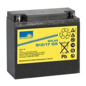 Batterie Sonnenschein GEL 12V 17Ah - S12-17.0G5