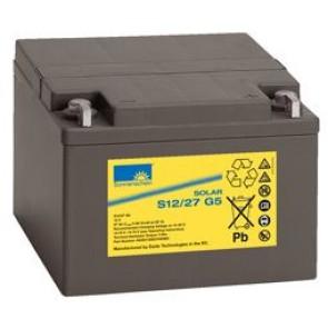Batterie Sonnenschein GEL 12V 27Ah - S12-27G5