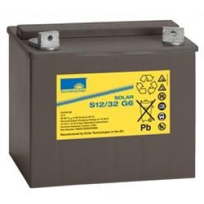 Batterie Sonnenschein GEL 12V 32Ah - S12-32G6
