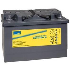 Batterie Sonnenschein GEL 12V 60Ah - S12-60A