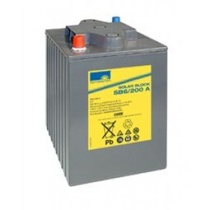 Batterie Sonnenschein Solar Block SB6/200A 6V 200Ah