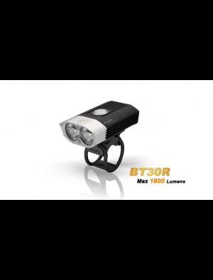 Fenix BT30R avec commande guidon et rechargeable (1800 Lumens - batterie incluse)