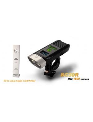 Fenix BC30R avec batterie interne et chargeur USB (1600 Lumens - écran OLED)