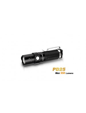 Fenix PD25 avec pile CR123A