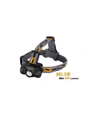 Fenix HL35 - LED Neutre Blanche (450 Lumens)