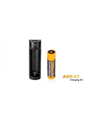 Pack de charge Fenix - Pile ARB-L18 2600mAh + ARE-X1 USB