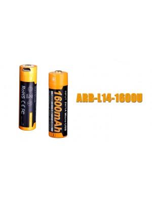 Pile rechargeable Fenix ARB-L14 (14500 - 800 mAh pour LD11, LD12 éd. 2017 et E25 UE)