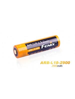 Pile rechargeable Fenix ARB-L18 - 18650 - 2900 mAh pour toutes les lampes Fenix utilisant des 18650