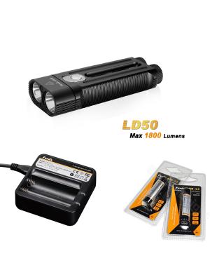 Pack Fenix LD50 (1800 Lumens)