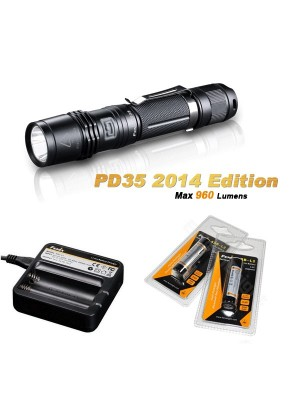 Pack Fenix PD35 édition 2014 (960 Lumens)