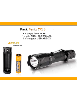 Pack Fenix TK16 (1000 Lumens)