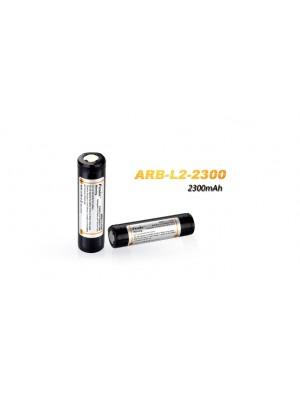 Pile rechargeable ARB-L2 (modèle 18650, 2300mAh pour toutes les lampes Fenix utilisant des 18650)